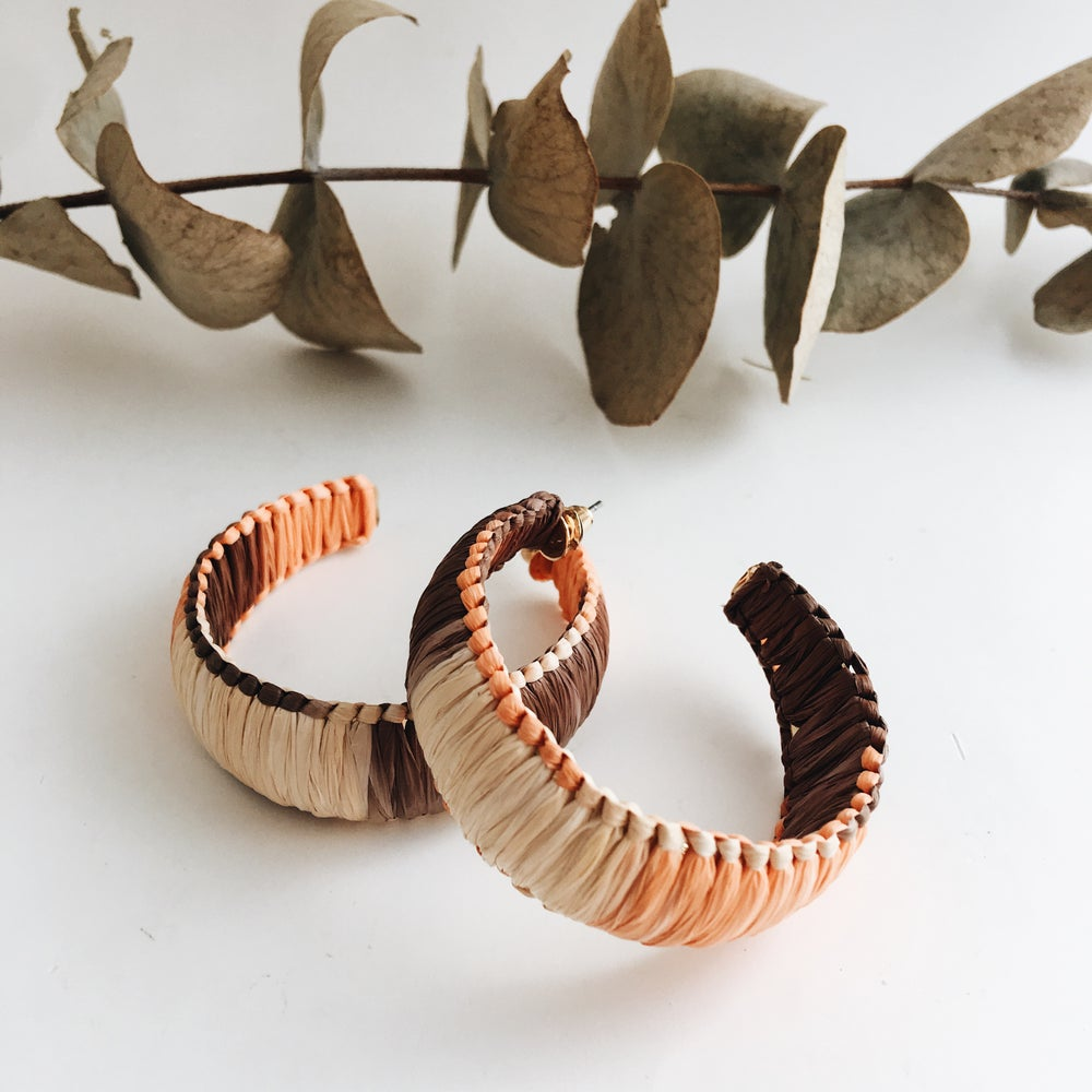 Image of Rattan hoops