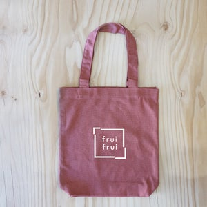FRUI Small Box Logo Tote Bag