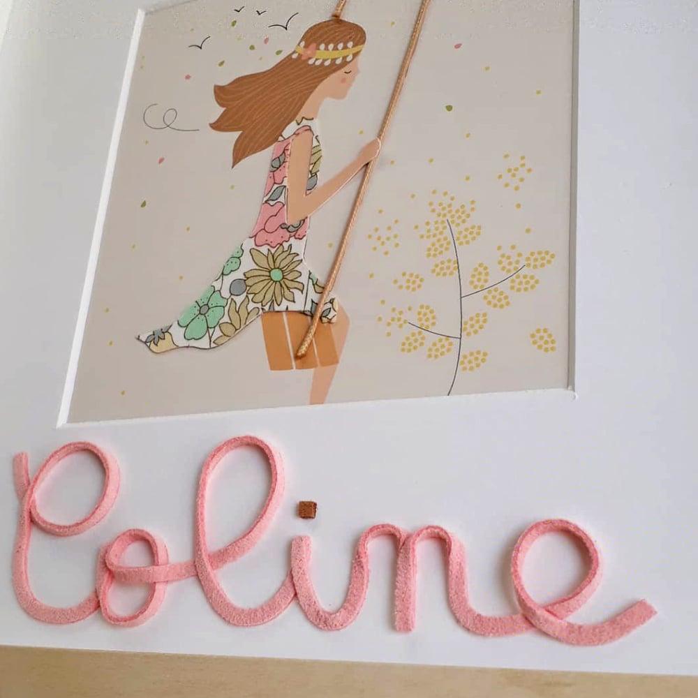 Image of LA BALANCOIRE - version brunette