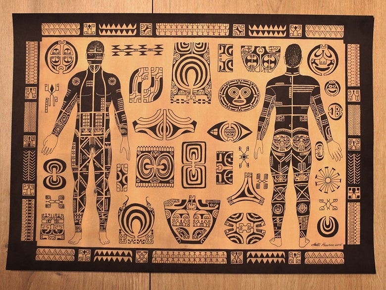 Image of Marquesas print