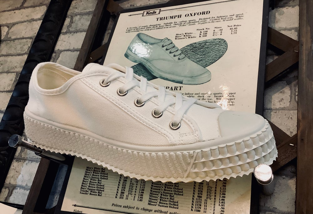 Image of ZDA Czech army trainer lo sneaker shoes made in Slovakia