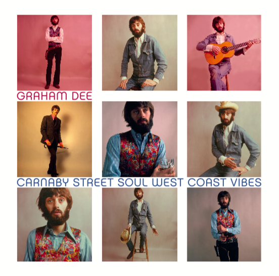 Image of Graham Dee - Carnaby Street Soul & West Coast Vibes CD (Pre-order)
