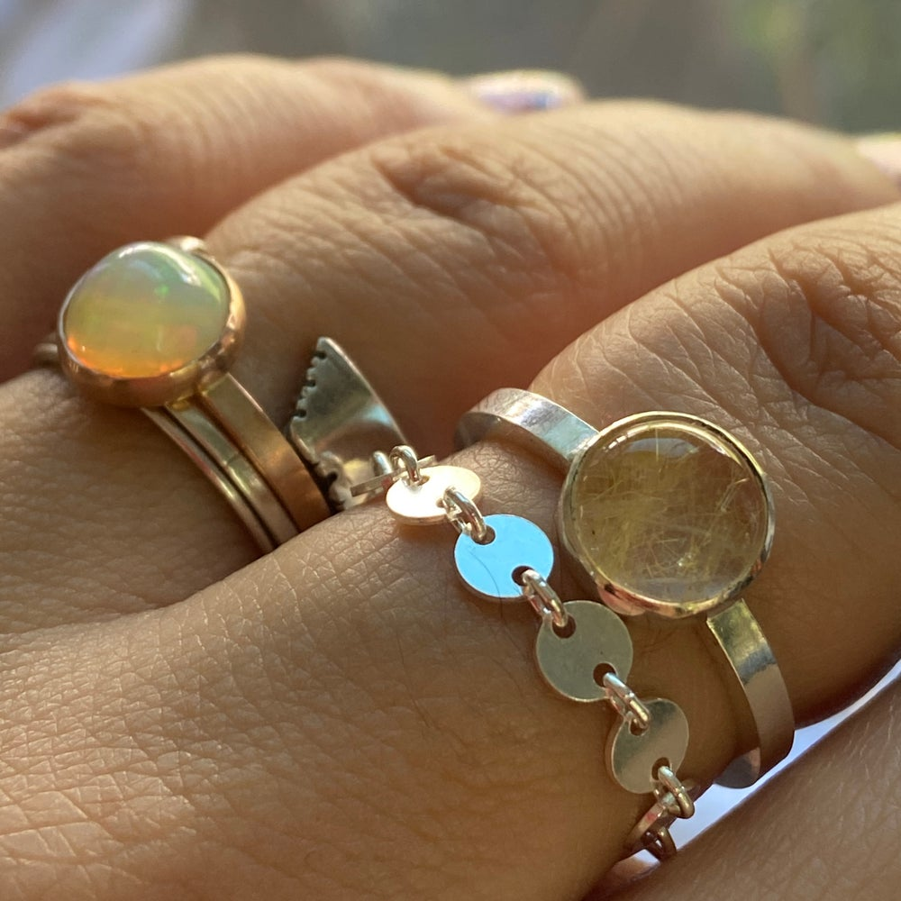 Image of Circle chain ring