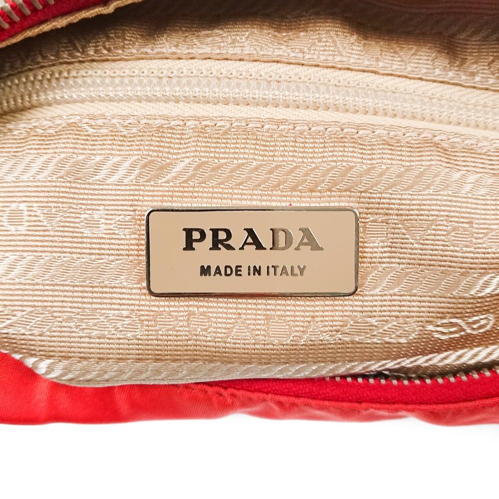 Image of Prada Tessuto Shoulder Bag