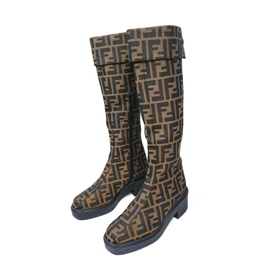 Image of Fendi Monogram Boots