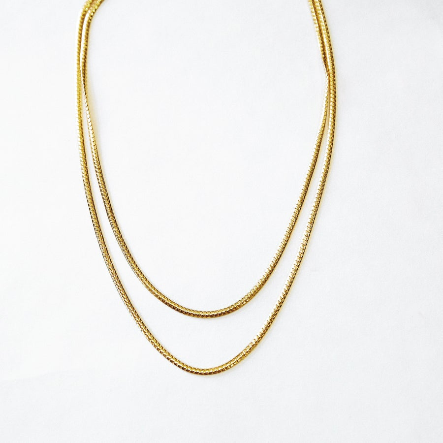Image of The Gold Snake Chain