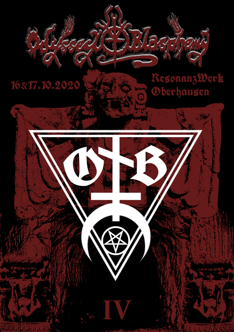 Image of PRE-ORDER - Odyssey to Blasphemy Vol. IV - Friday/Saturday - 16/17.10.2020