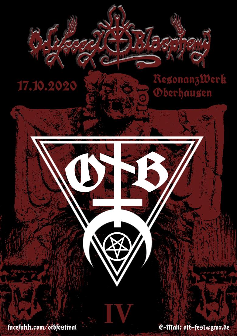 Image of PRE-ORDER Odyssey to Blasphemy IV - Saturday 17.10.2020