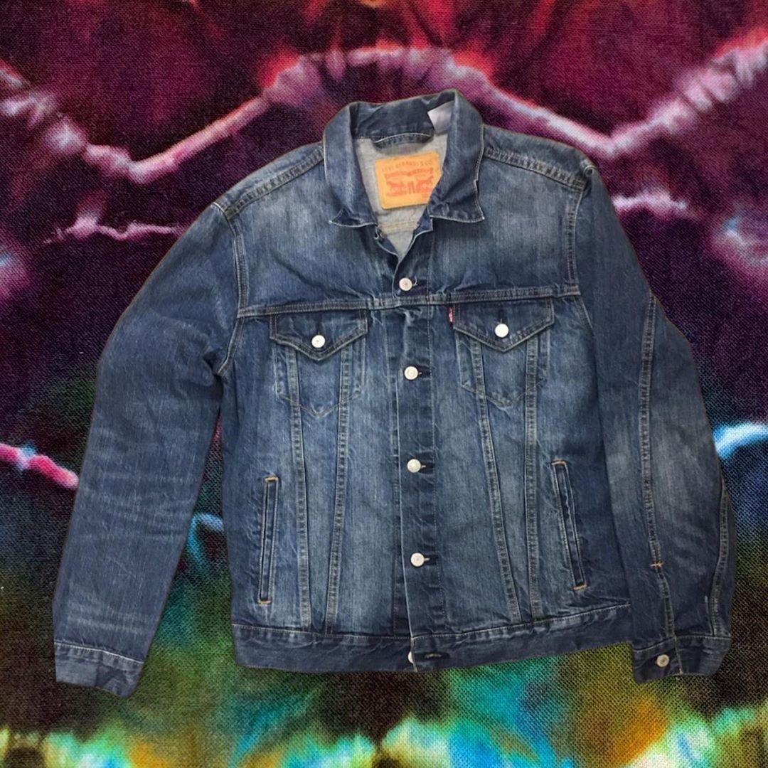 NEW Custom Ice Cream Bear Embroidered Vintage Levi's Jacket!! - XL!