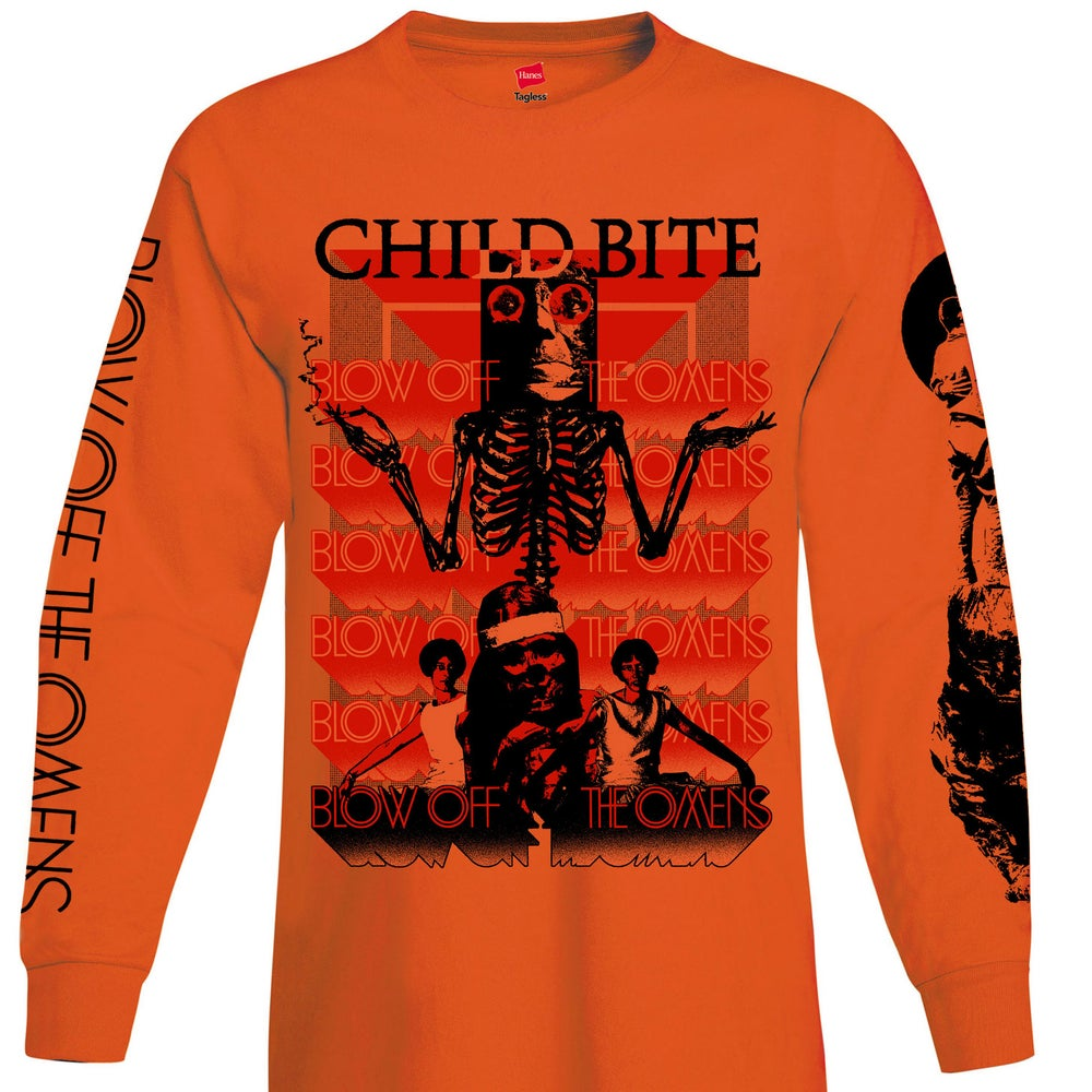 Image of BOTO Shrug - Orange Long Sleeve