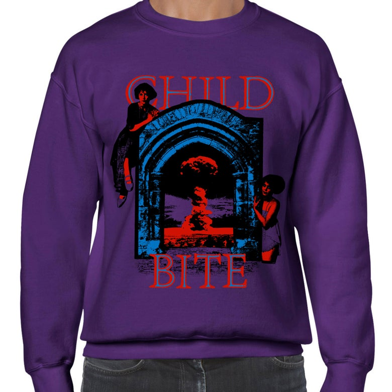 Image of Purple Crewneck (Sweatshirt)