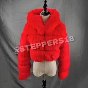 STEPPERS FUR COAT (PREORDERS ONLY)