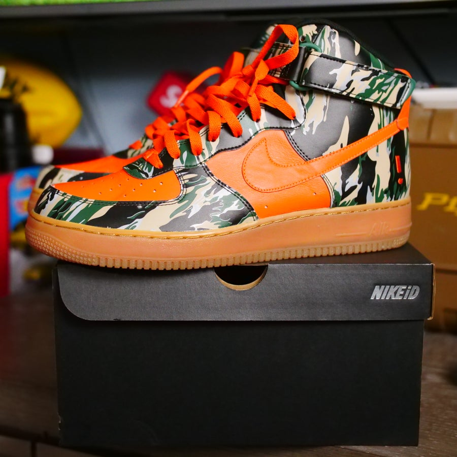 Image of Nike 3m Tiger Camo AIr Force 1 (Nike ID)