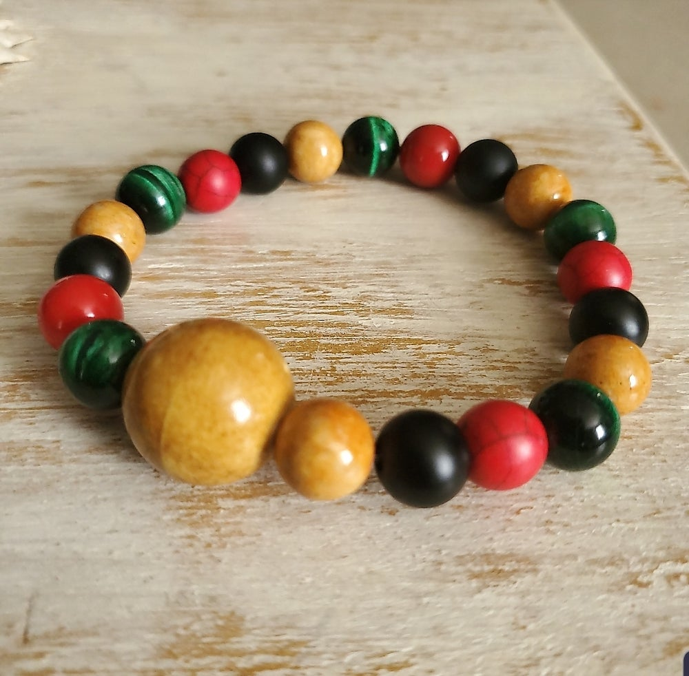Image of RASTA ME ARM CANDY