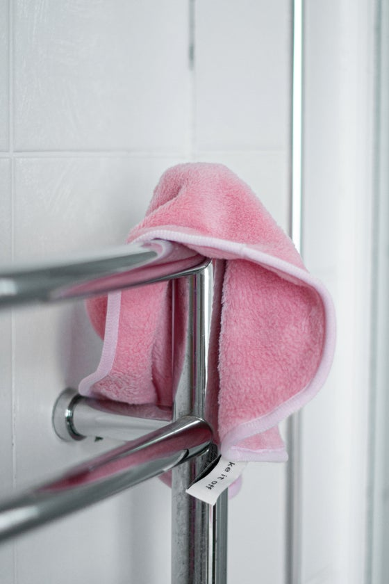 Image of Pink Makeup Removal Towel