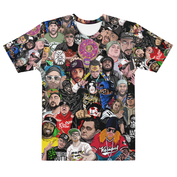 Image of UGH67 Hosted by RITTZ All Over Print Tee