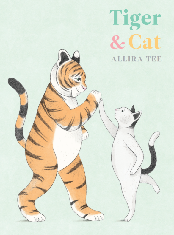 Image of Tiger and Cat