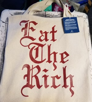 Image of Eat The Rich Grocery Bag