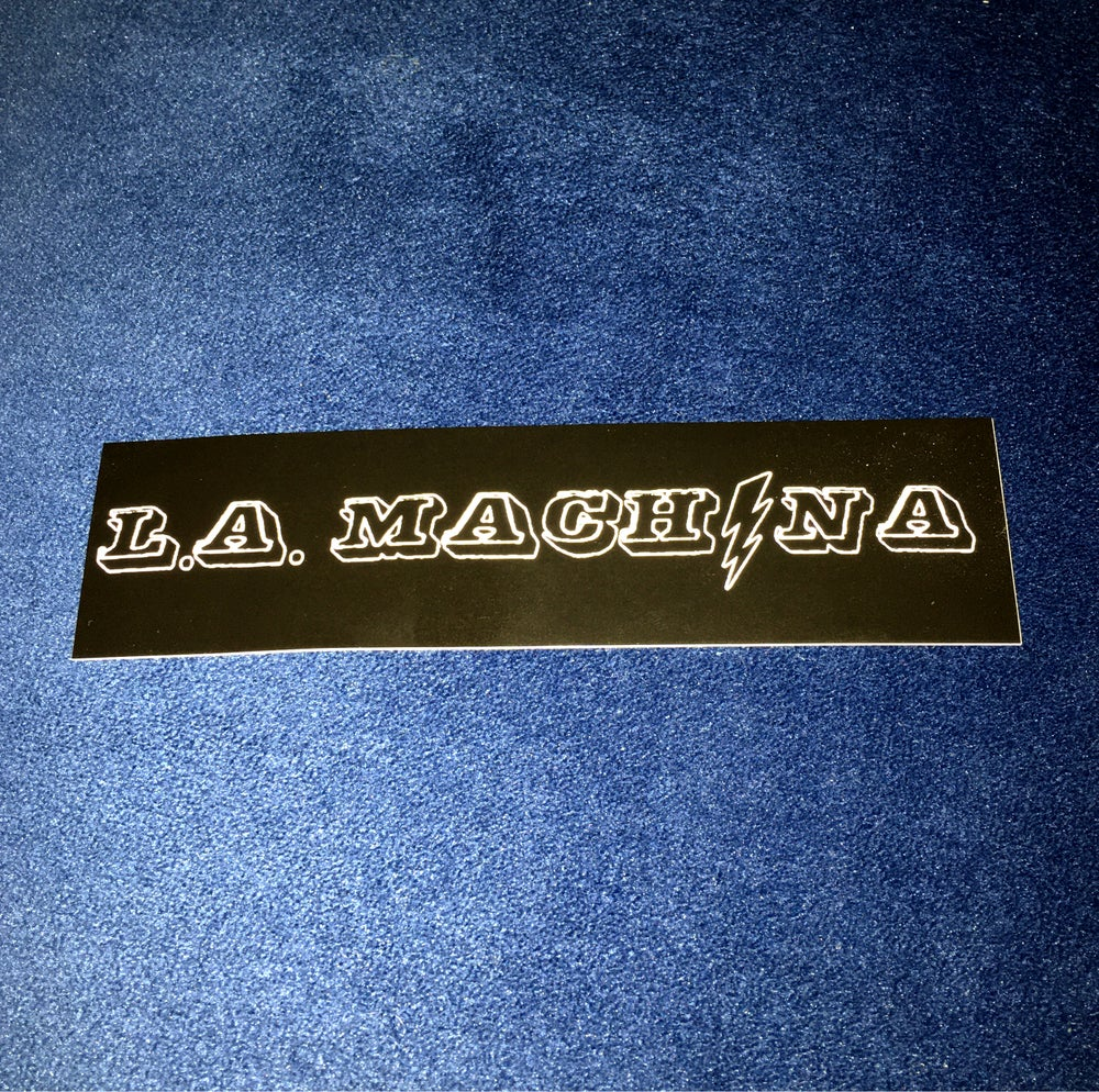 Image of L.A. Machina Sticker!