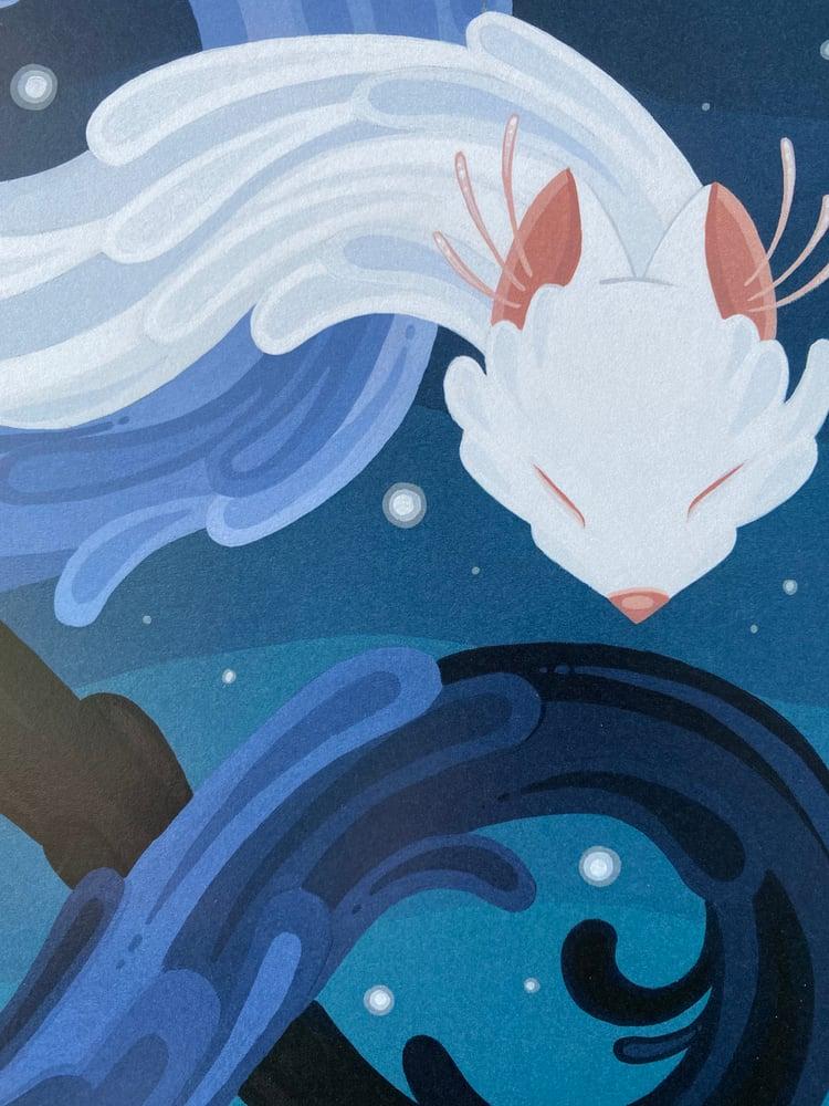 Image of Wolf Dragon - Print