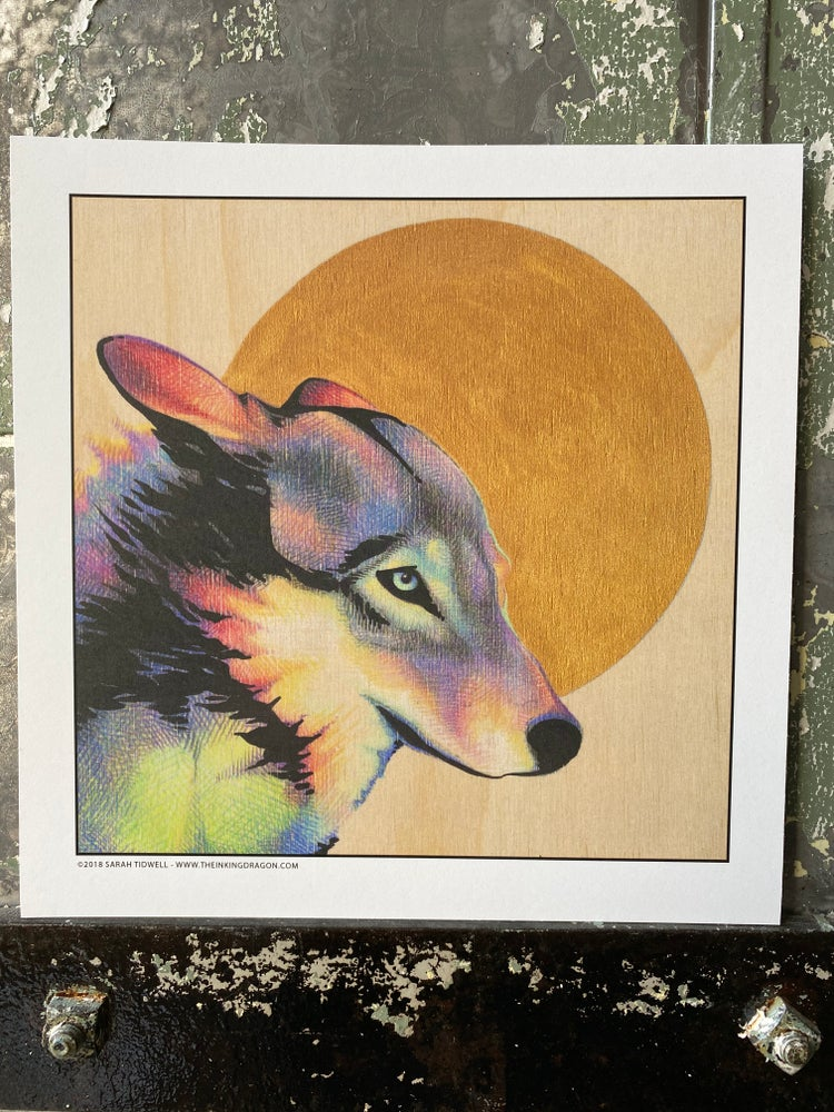 Image of Wolf Moon - Print