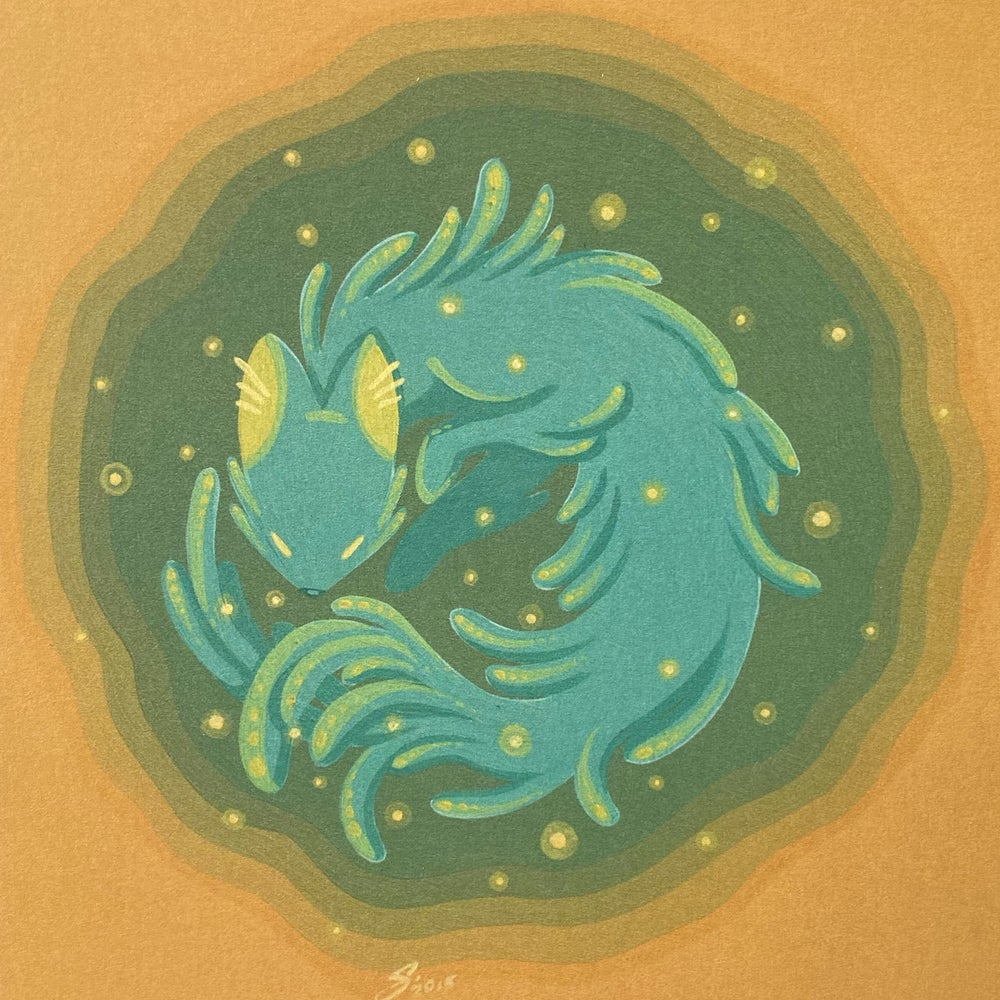 Image of Firefly Fox-Dragon - Print