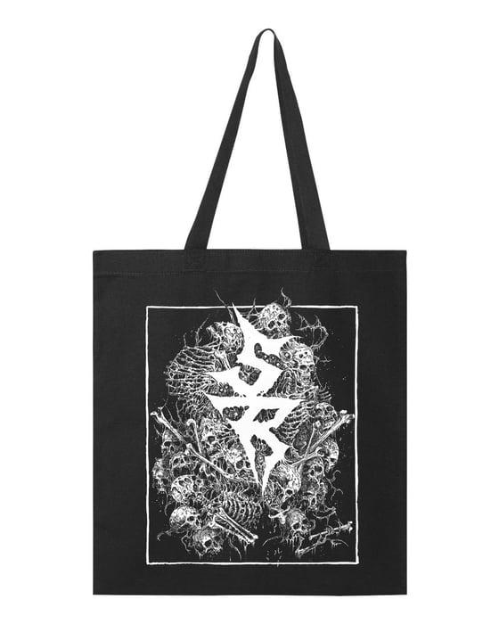 "Image of ""SR"" tote bags"