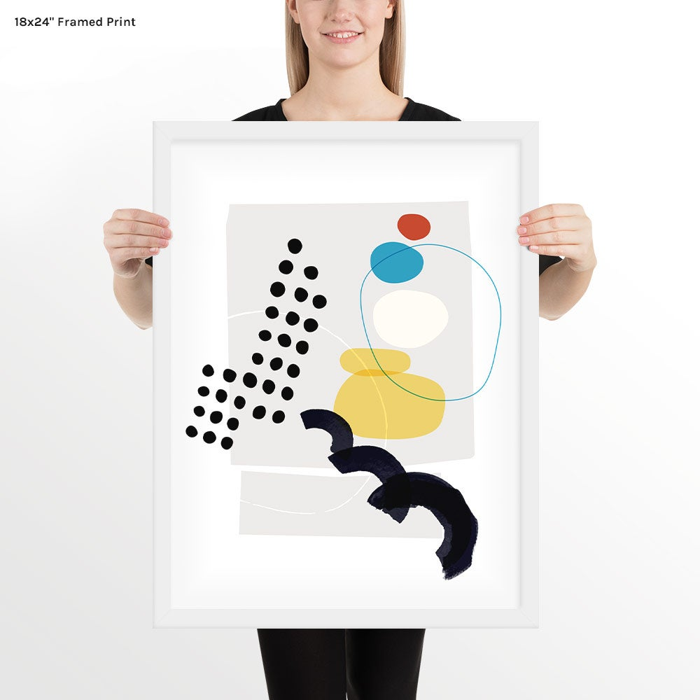 Image of Shape & Hue Series No. 5 Art Print