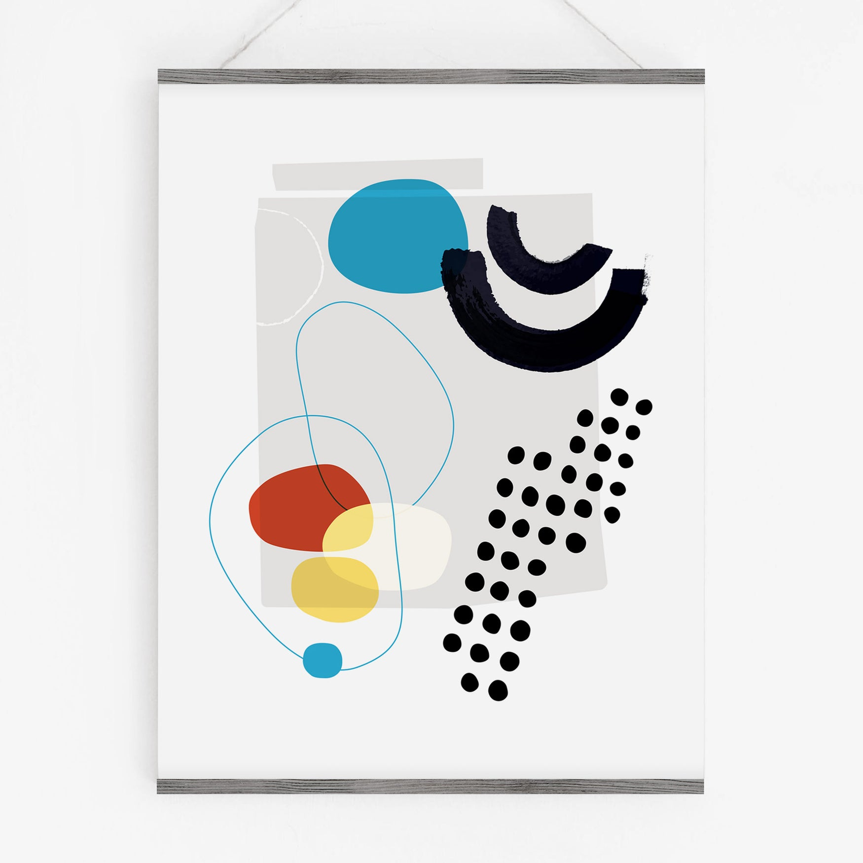 Image of Shape & Hue Series No. 6 Art Print