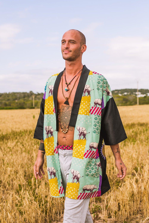 Image of Cosmic Turtle Kimono