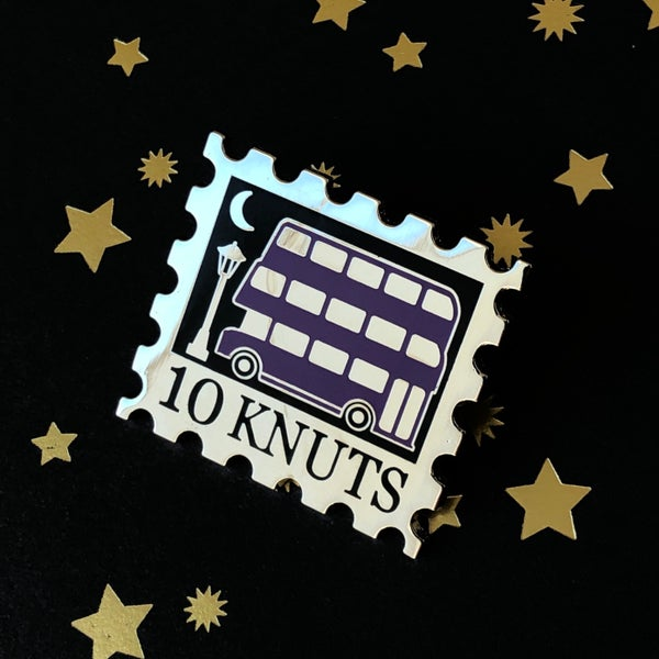 Image of Emergency Bus Stamp Pin