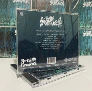 "Image of ""Archaic Towers of Annihilation"" CD"