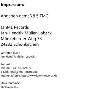 Image of Impressum - Datenschutz
