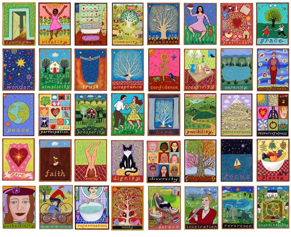 Image of Illumination Series Greeting cards any design single card