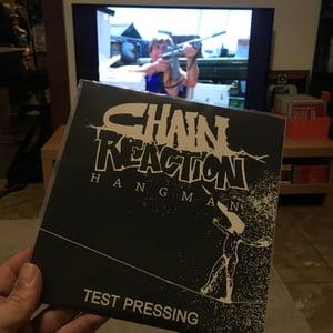 Image of CHAIN REACTION hangman EP Testpressing