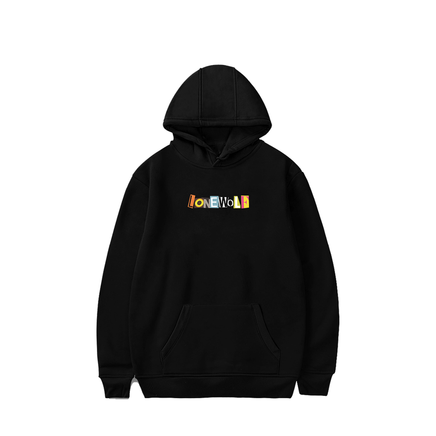 Image of OG Embroidered Logo Hoodie in Black