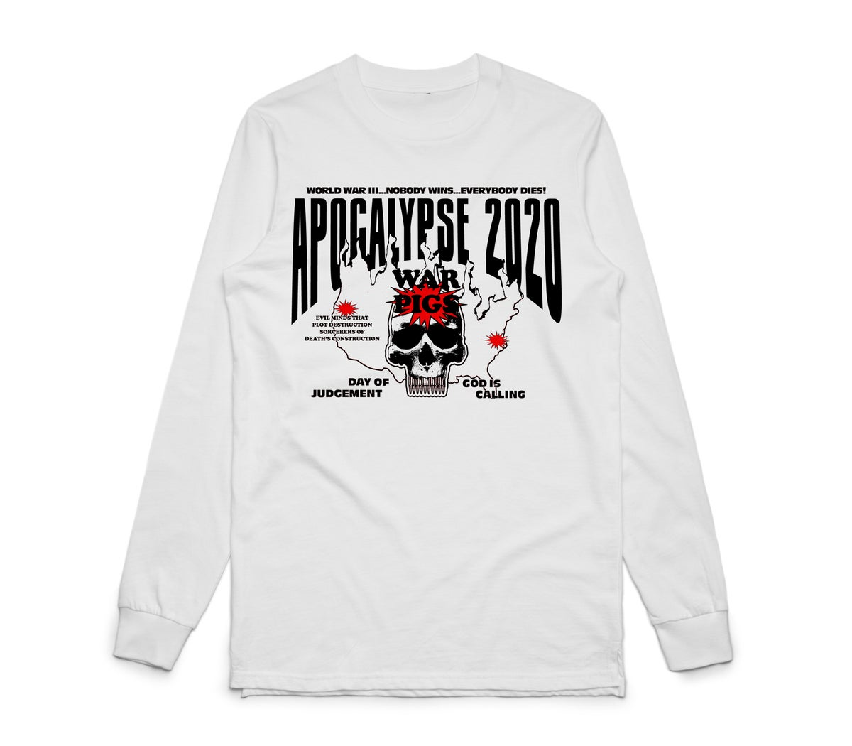 Image of Apocalypse 2020 long Sleeve Tee
