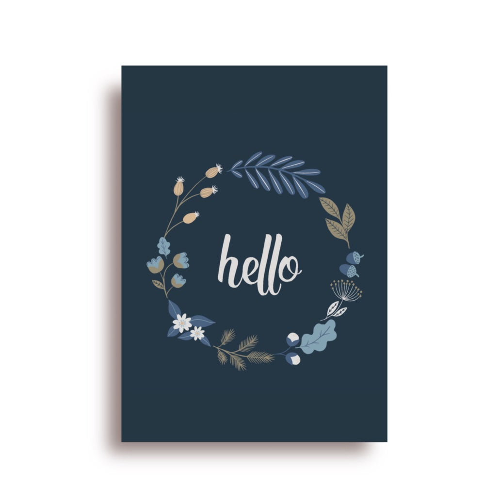 Image of Carte Hello