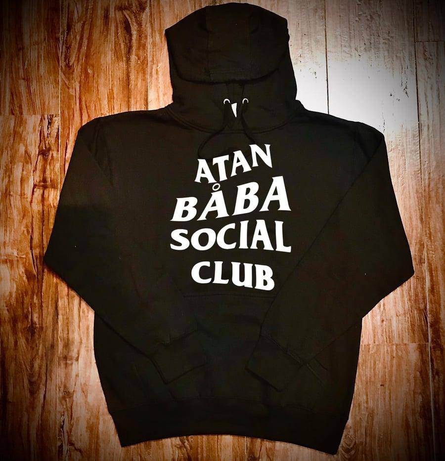 Image of ATAN BABA SOCIAL CLUB (FRONT DESIGN) HOODIE