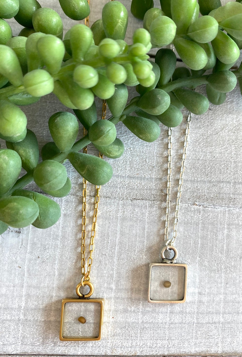 Image of Mustard Seed Necklaces
