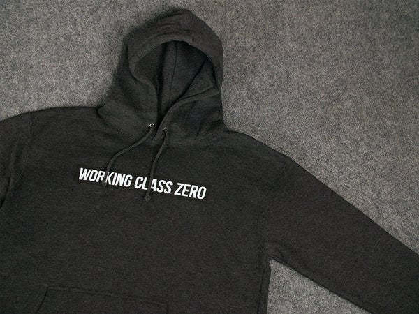 Image of Standard Logo Hood (CHARCOAL HEATHER)