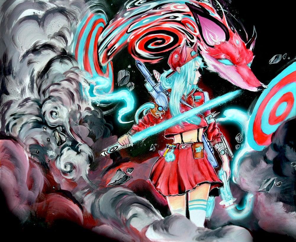 "Image of Limited Edition ""Aura Saber"" Print"