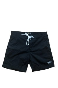 Image of OLYMPIC SHORTS <BR>  BLACK