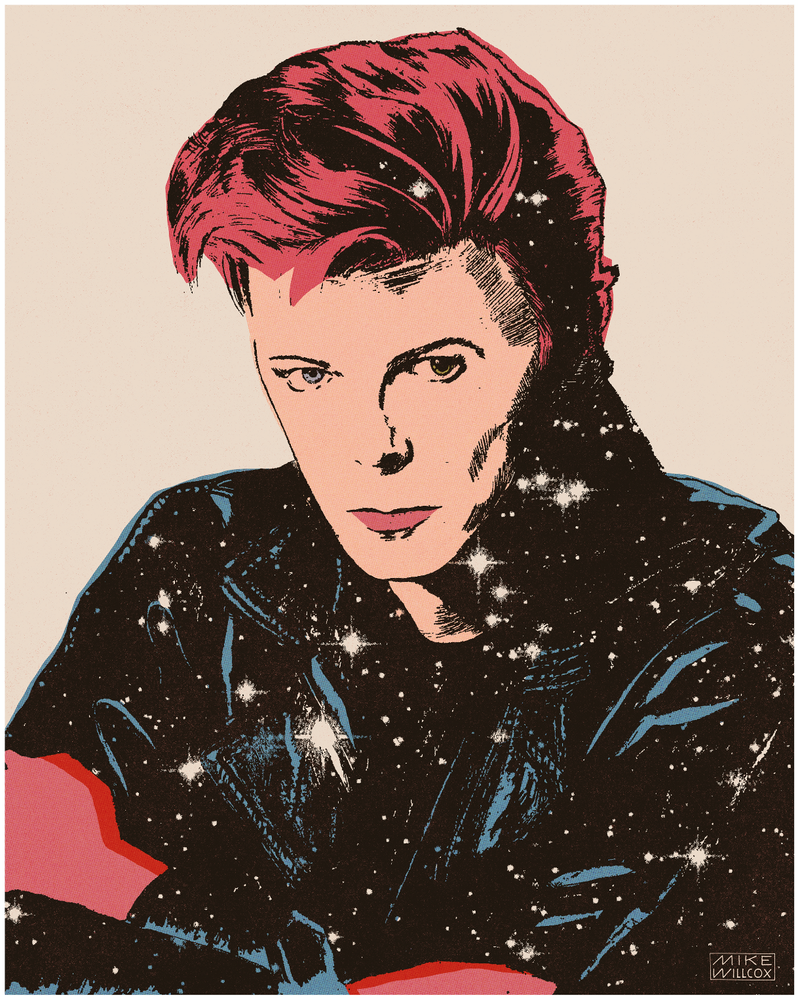 Image of Limited Edition Bowie Fundraiser