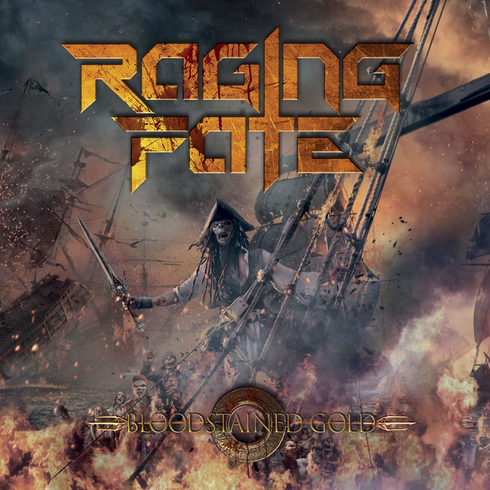 RAGING FATE - Bloodstained Gold CD