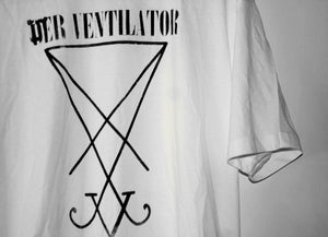 Image of DER VENTILATOR WHITE t.shirt