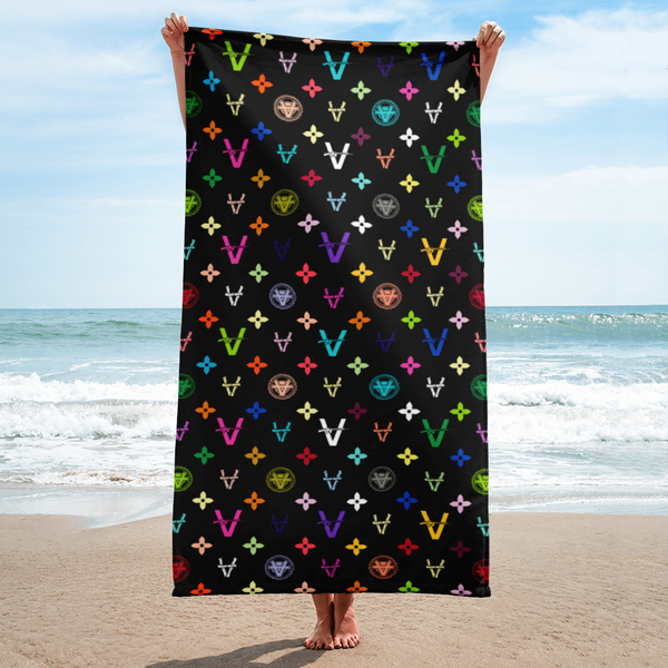 Image of Vandals Beach Towel from Sergio Giorgini