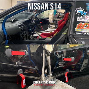 Image of Nissan S14 - Material Handle option - Door Cards