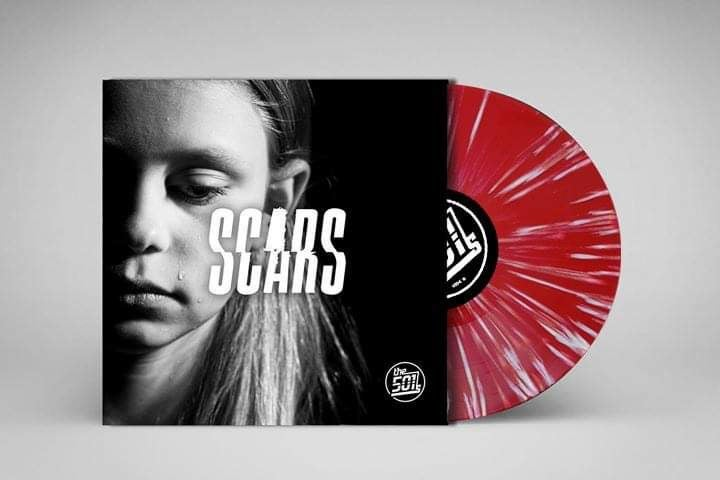 "Image of ""SCARS"" (Signed Version) Strictly limited edition 7"" coloured vinyl"