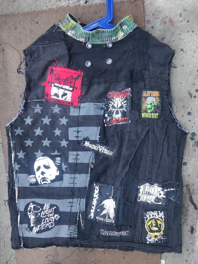 Image of Napalm distressed vest